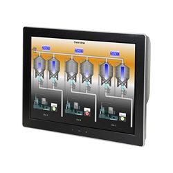 "Graphite 15"" Modular Touchscreen INDOOR,24V"